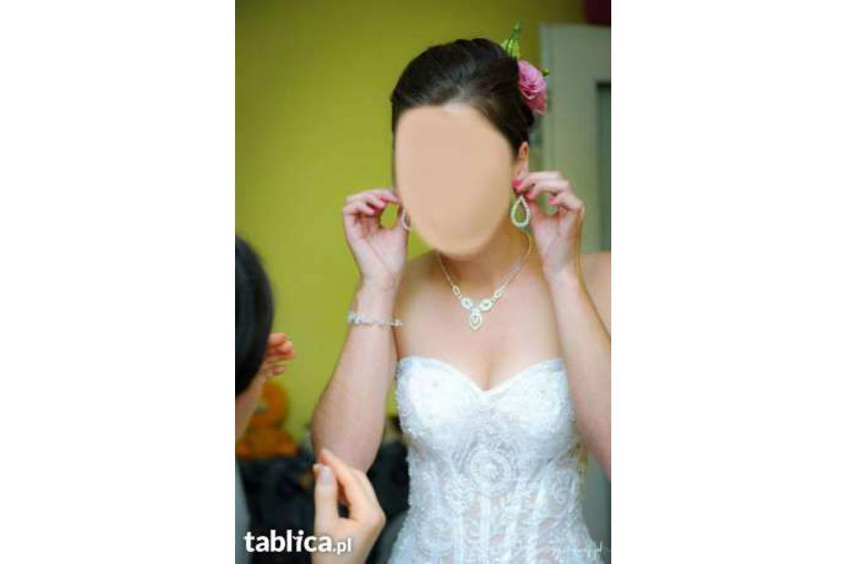 Suknie ślubna jak z bajki z GISELLE