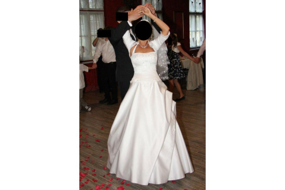 Suknia ślubna+welon+bolerko