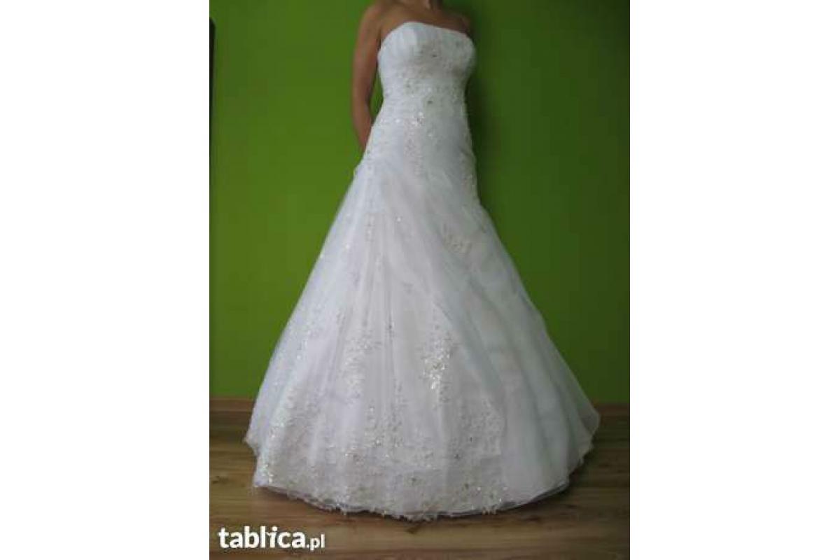 Sprzedam przepiękną suknię ślubną Karina