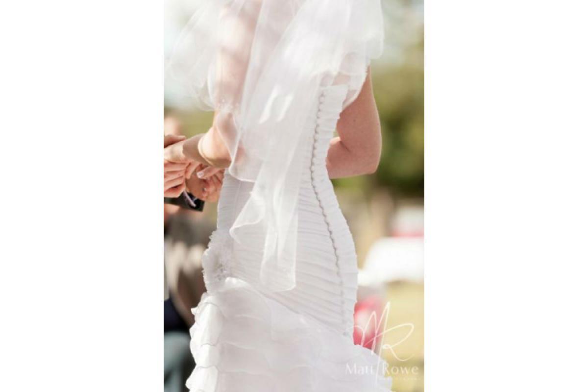 Piękna suknia ślubna Pronovias Fauna okazja