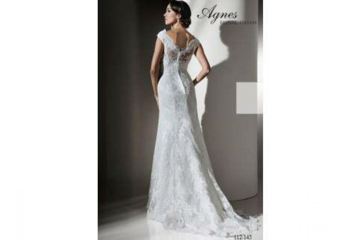 Koronkowa suknia ślubna firmy AGNES 2012 ecri rozmiar 36