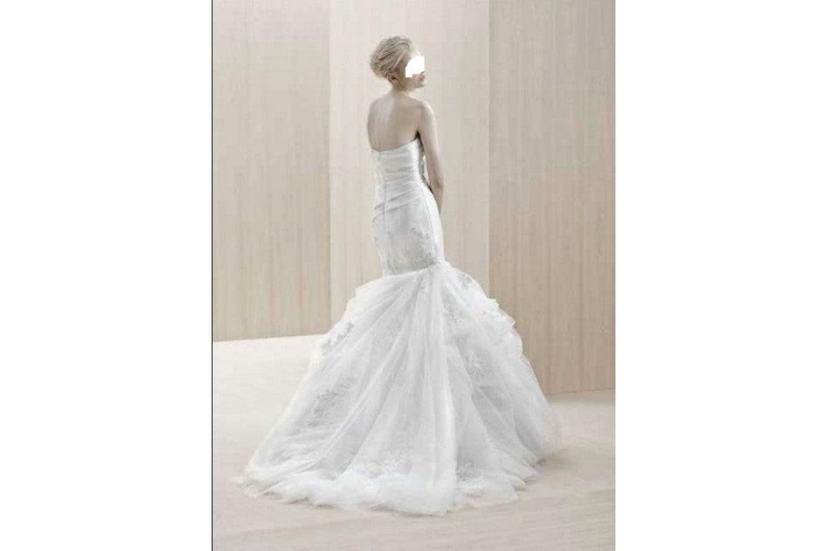 """Suknia ślubna zagraniczna Enzoani """"Everette"""", BlueBy,  półka Pronovias, Cymbeline"""