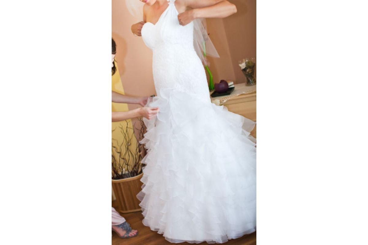 Sprzedam śliczną suknię z salonu Sposabella