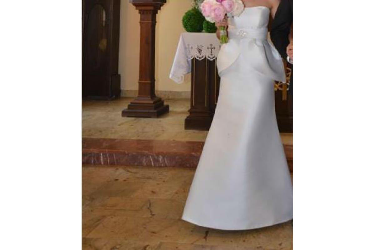 Suknia ślubna Sposabella z beskinką model 1336