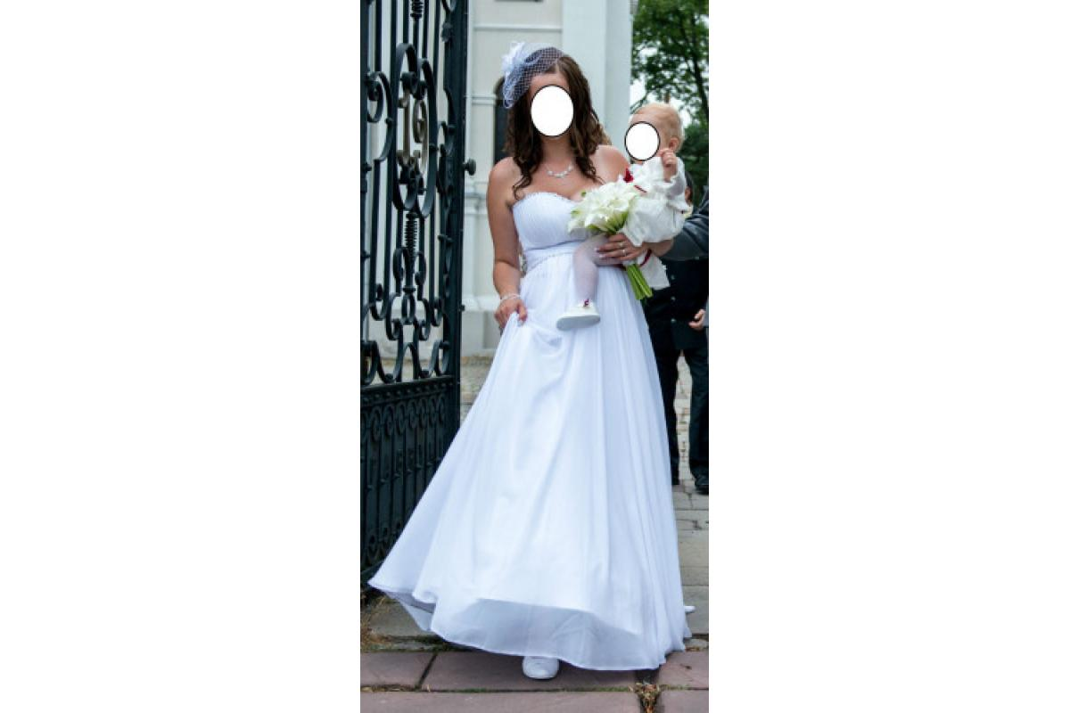 Suknia ślubna z kolekcji Princessa 2013 roz.40