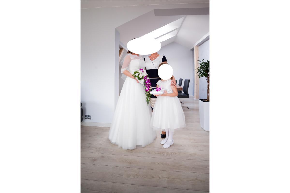 Suknia Ślubna by Ola la - model Juleietta (rozmiar 38/40) TANIO