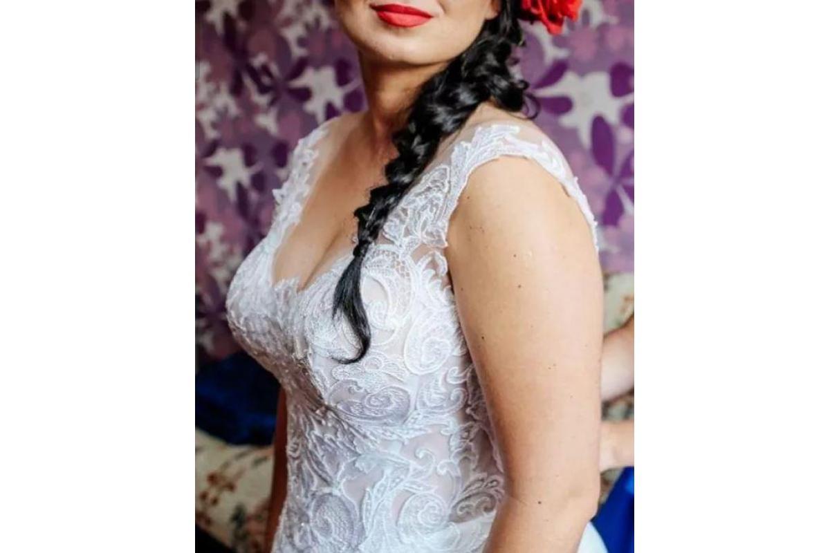 Suknia Ślubna Maxim sznurowana 38-40-42