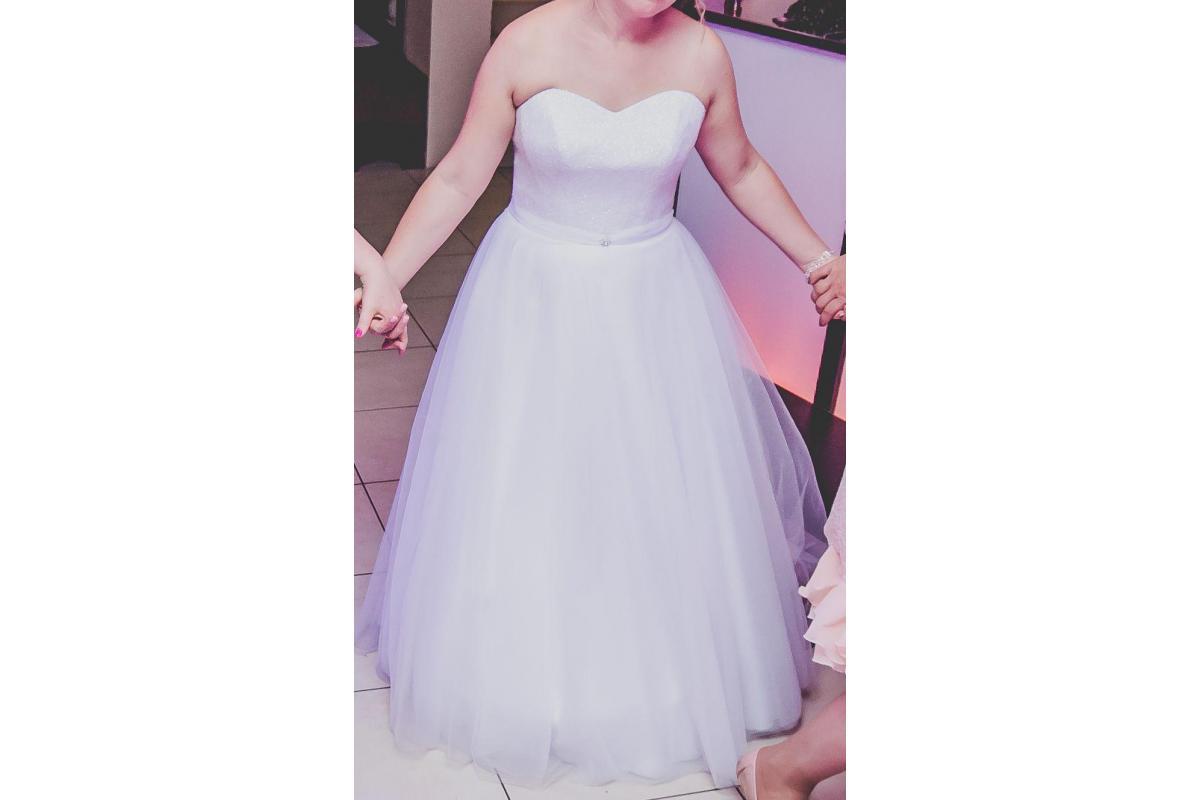 Suknia Ślubna PRINCESSA rozmiar 38-40
