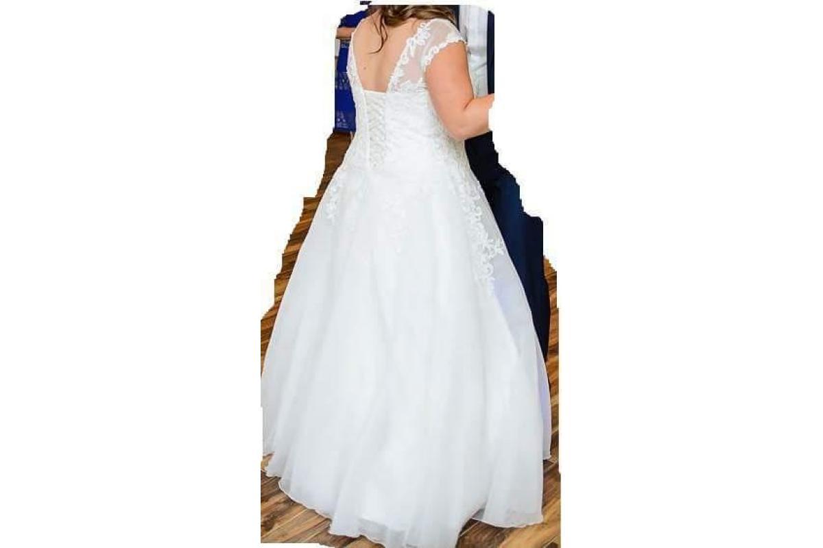 Suknia ślubna roz. ok 40-44