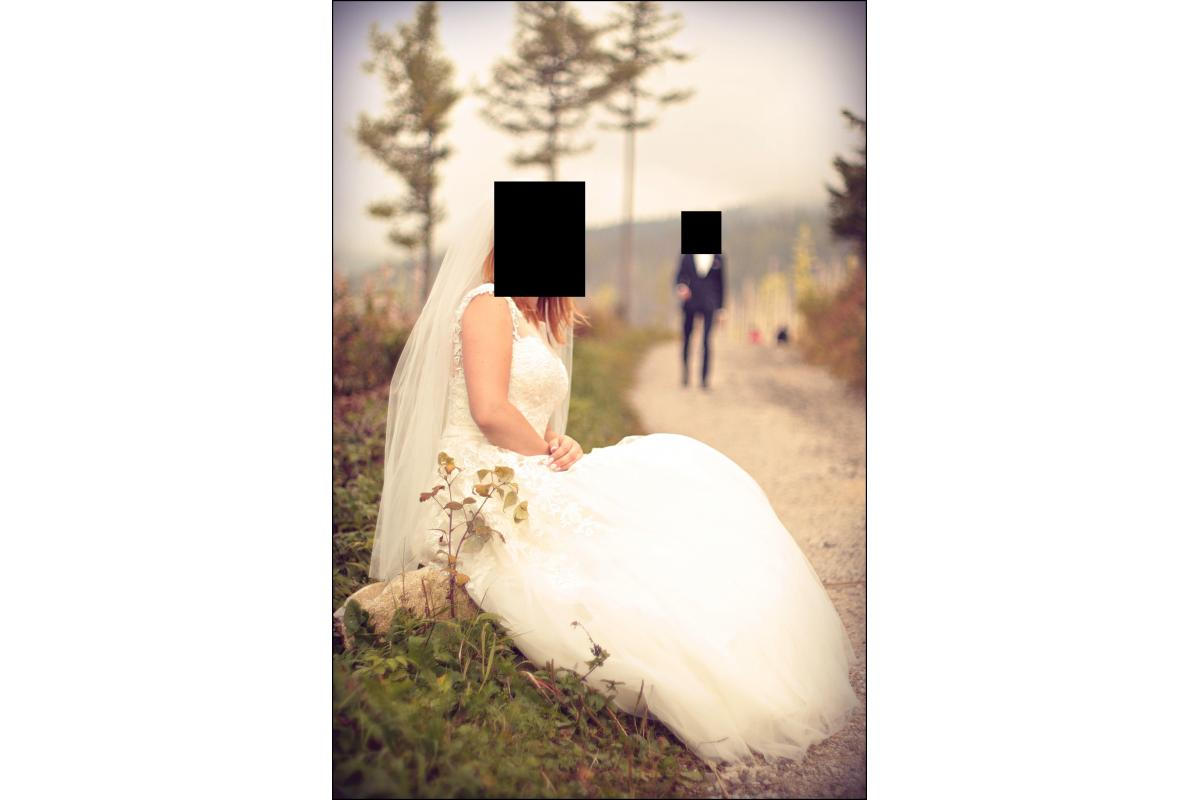 Sprzedam suknie ślubną rozmiar 36 Vanilla Sposa