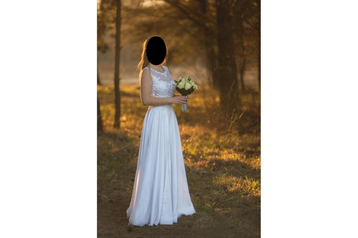 Suknia ślubna (rozm. 36) - Agnes, kolekcja The One