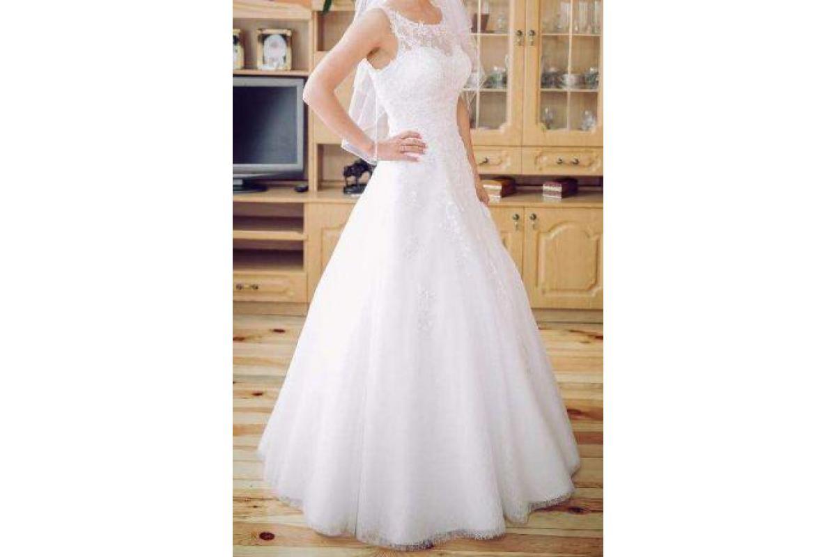 Piękna suknia ślubna Amera Vera 1735 - super cena