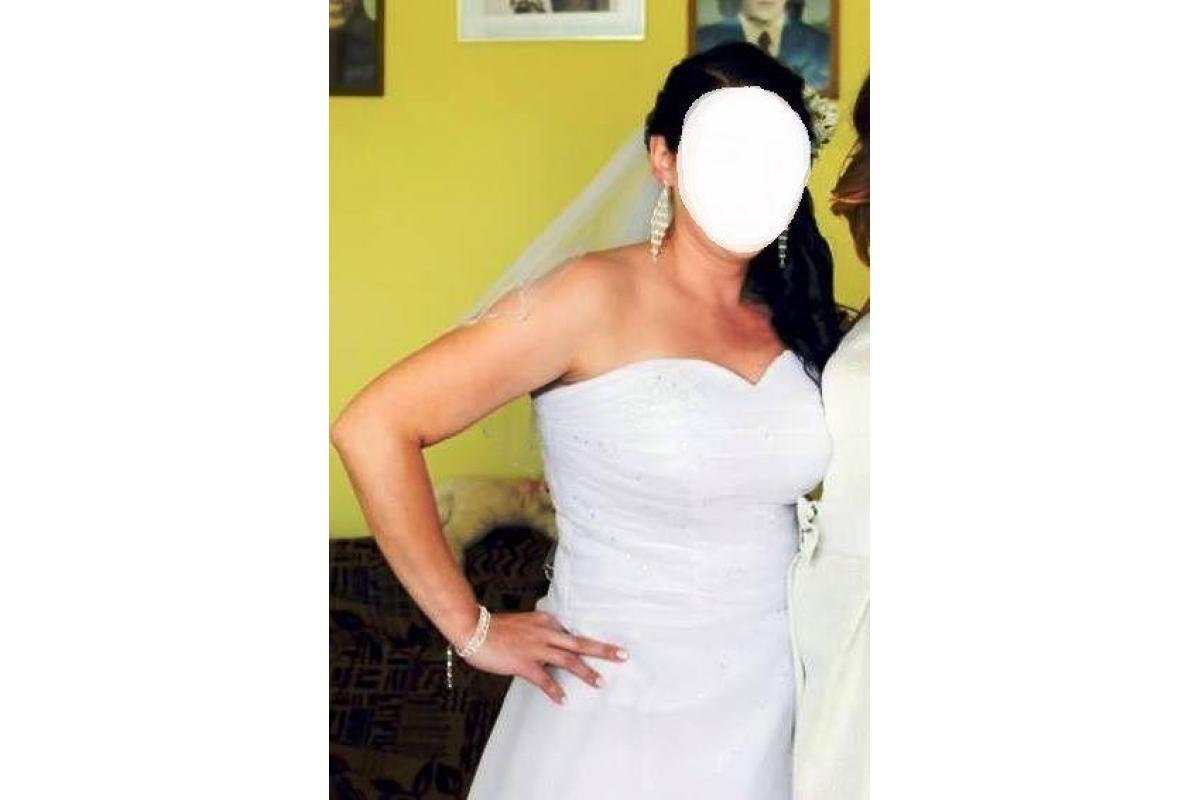 Piękna suknia ślubna Igar Passion Angel + dodatki (rozmiar 44/46)