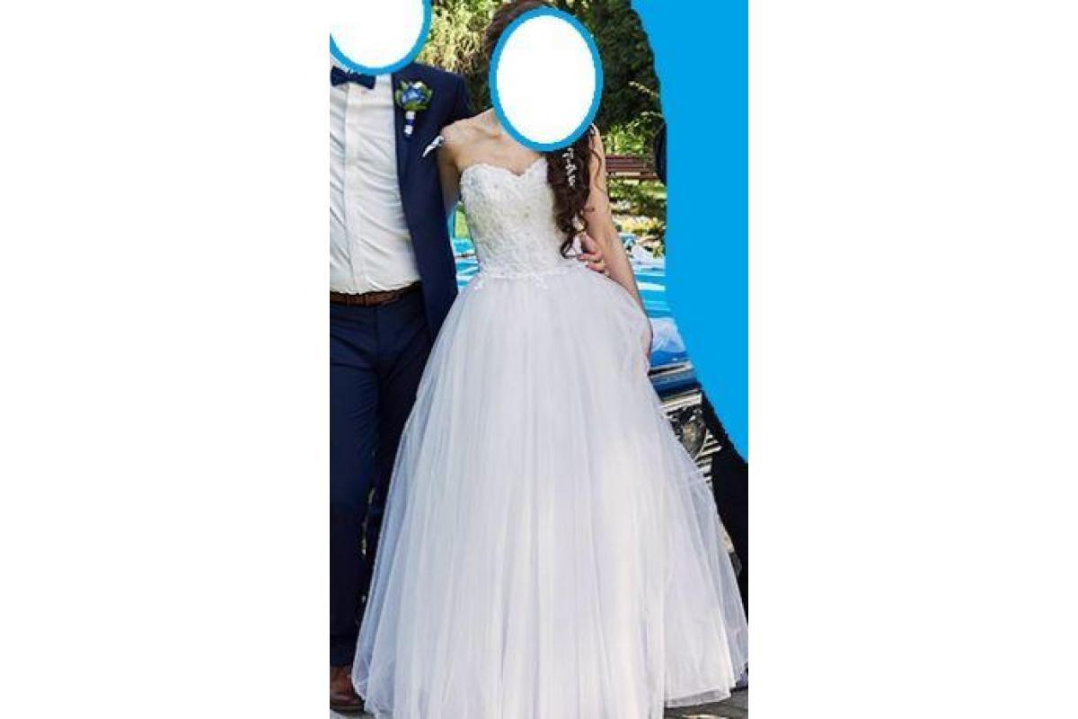 Suknia ślubna 34 36