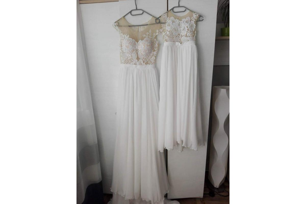 Sprzedam suknię ślubną mama i córka