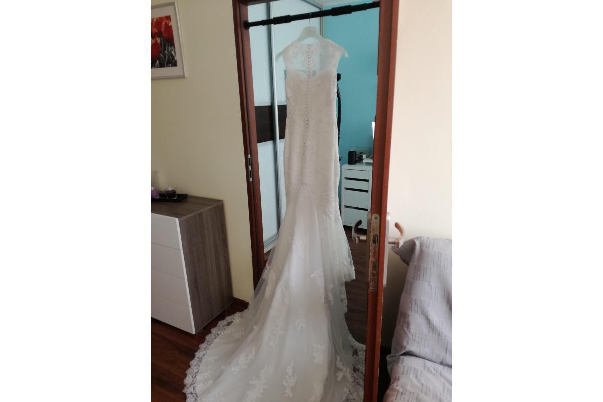 Sprzedam suknię ślubną roz. S