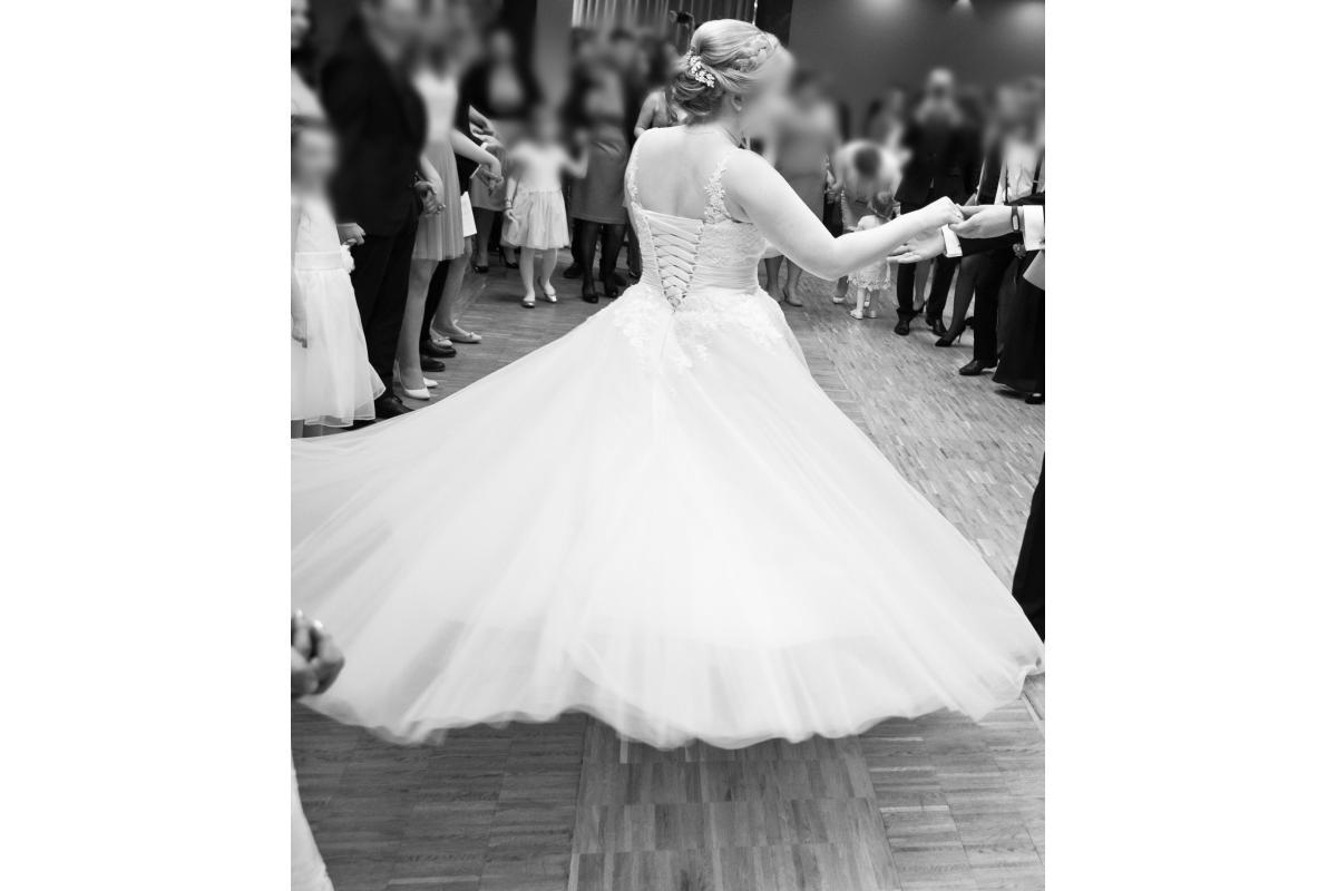 Suknia typu princessa w kolorze ivory