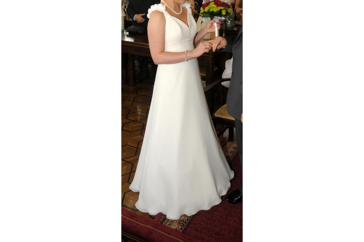 suknia ślubna Papilio - stan idealny, doskonała na ślub cywilny