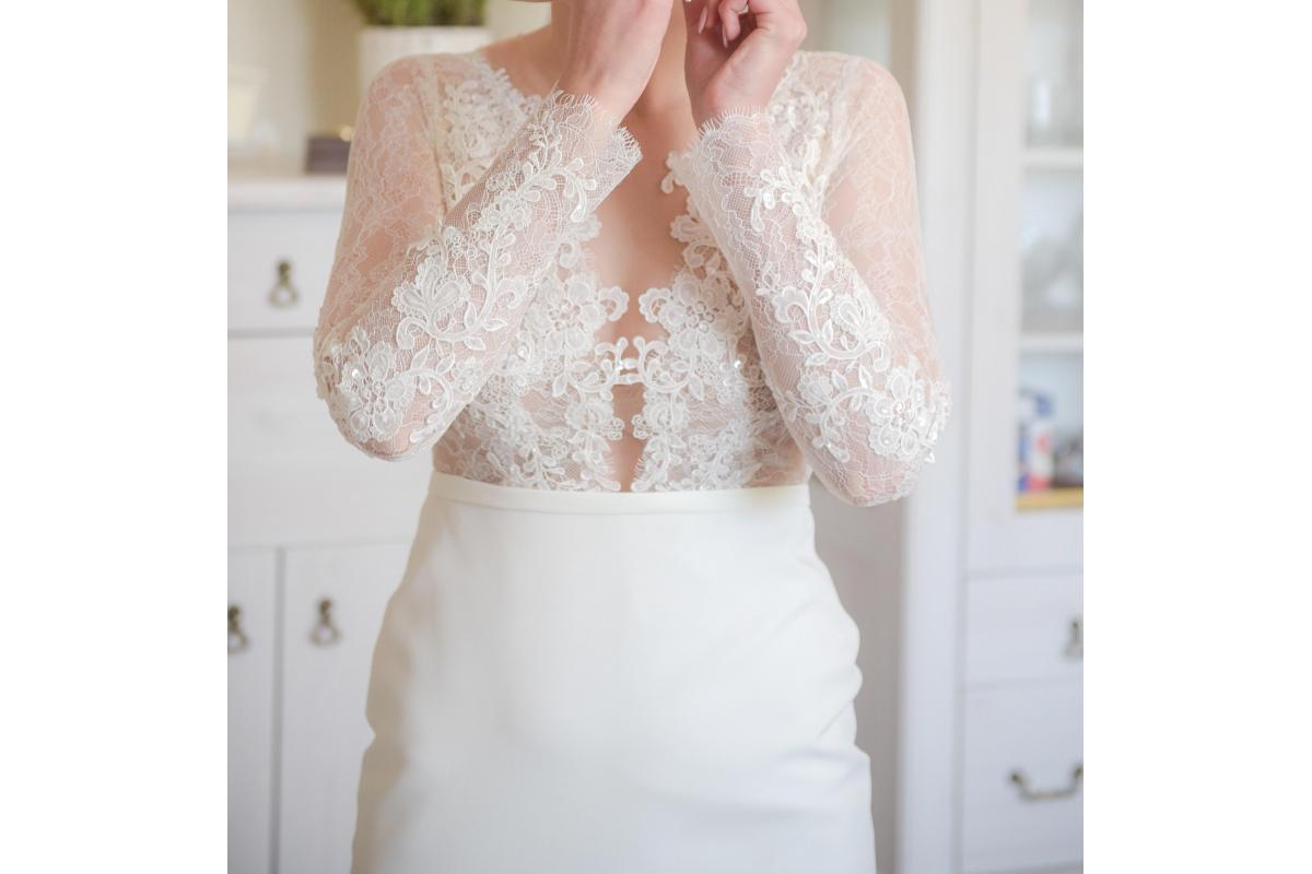 Sprzedam suknię ślubną z atelier Agnieszki Światły