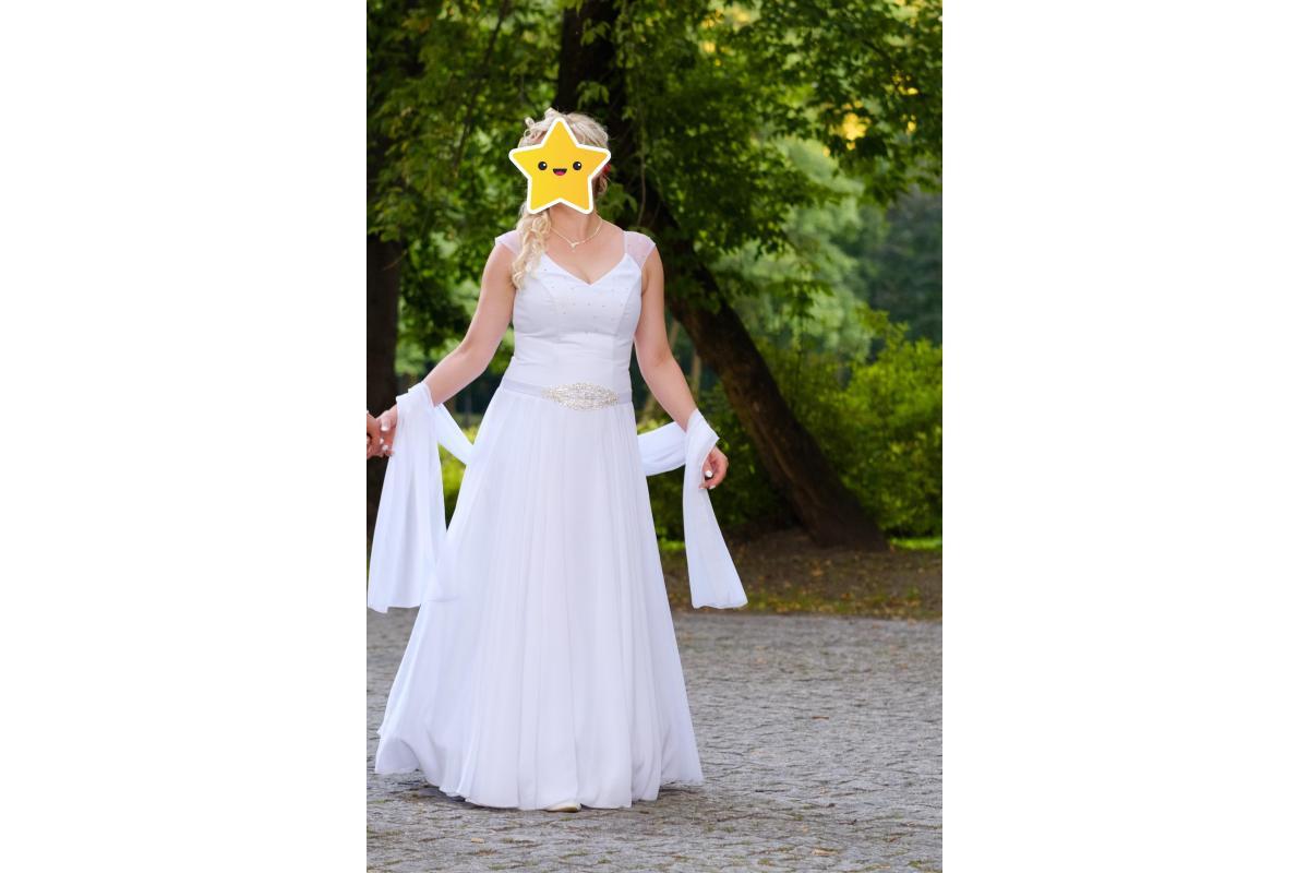 Sprzedam piękną suknię ślubna