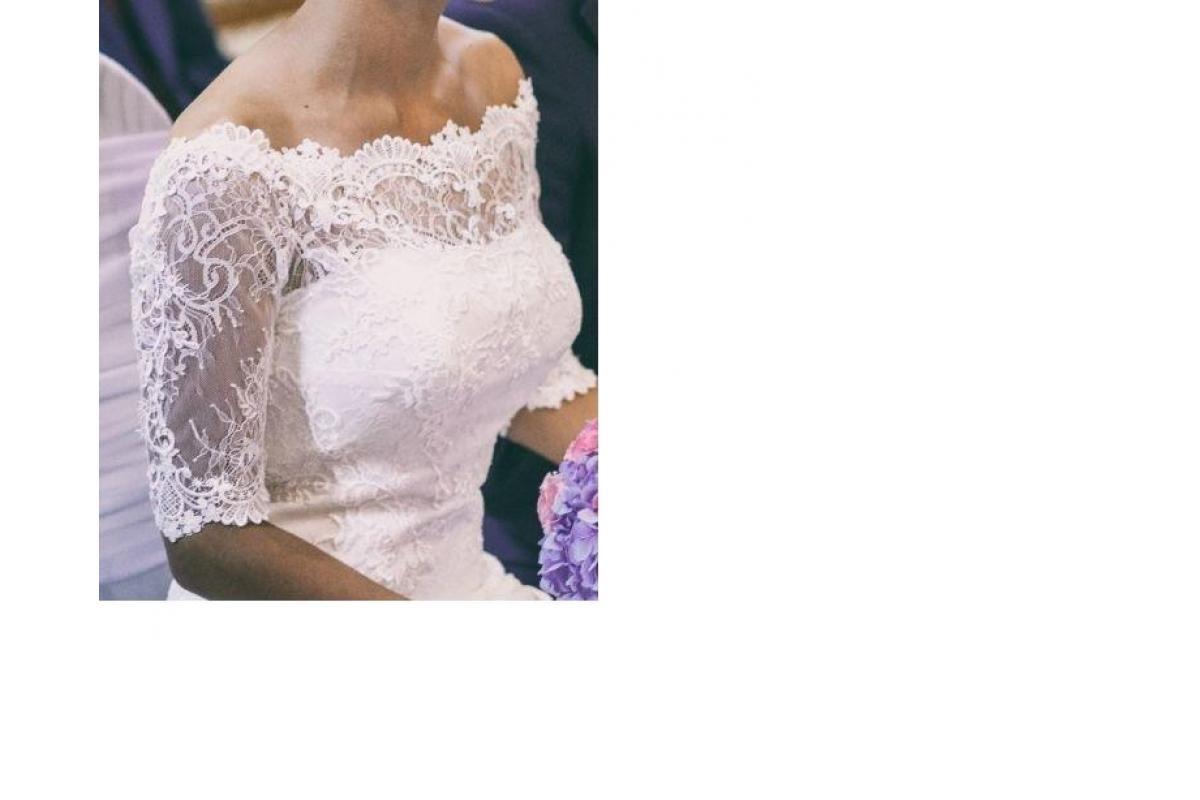 Suknia ślubna syrenka, rybka