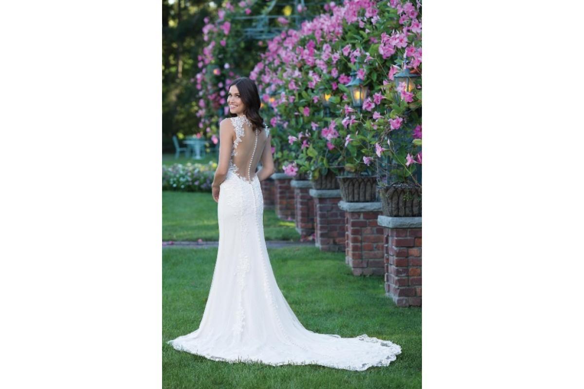 Sprzedam suknię ślubną Sincerity bridal model 3913 z trenem (posiada certyfikat)