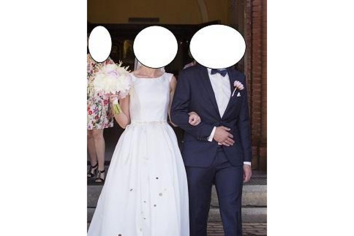 Suknia ślubna Papa Michel model Kansas rozm. 36/38