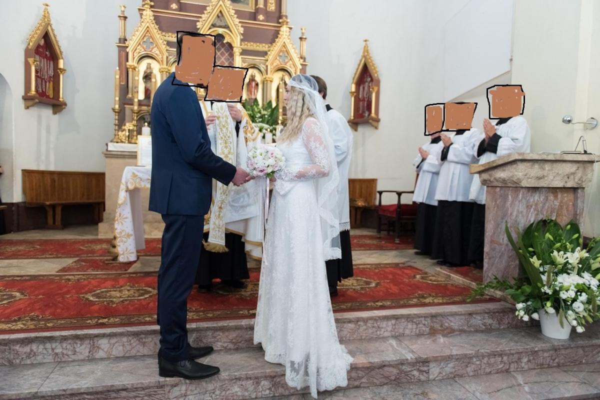 suknia Ślubna glamur