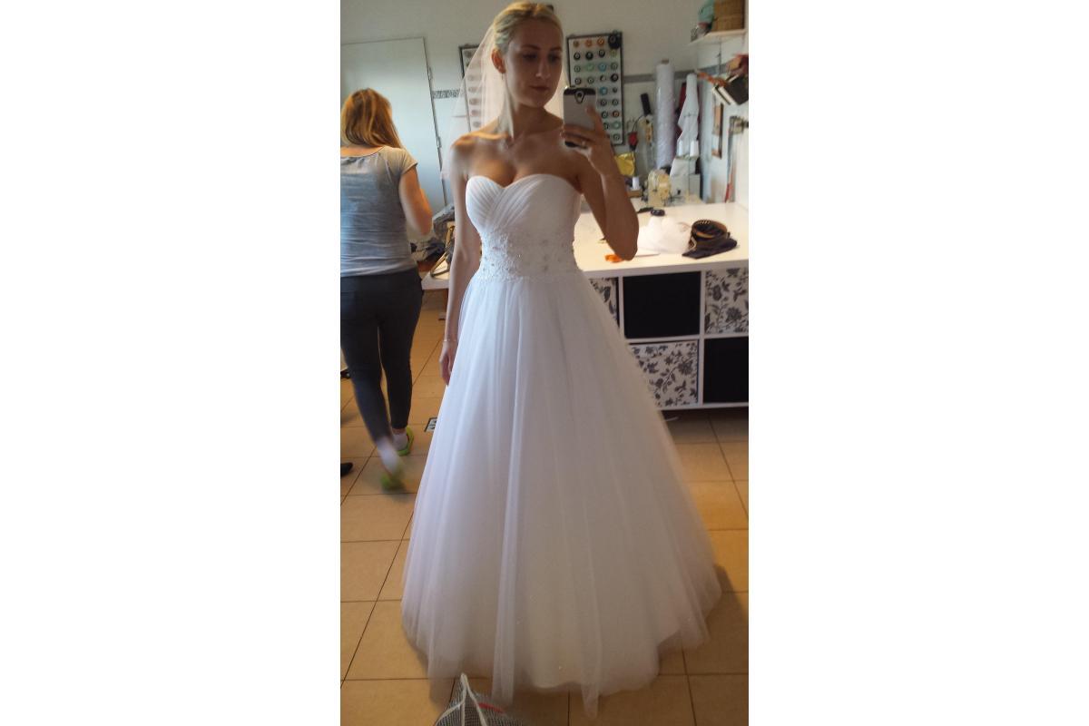 Suknia ślubna + welon i bolerko w gratisie