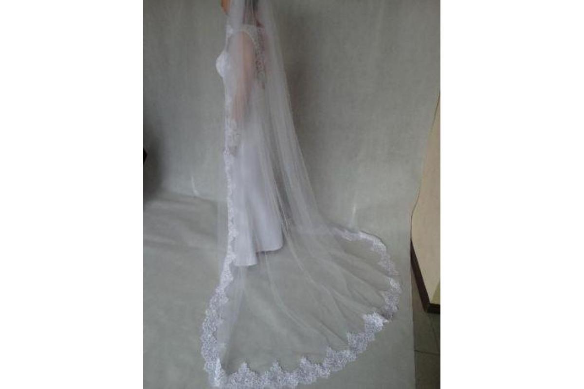 Nowa!NIEUŻYWANA suknia ślubna, prosto od krawcowej +kolczyki gratis