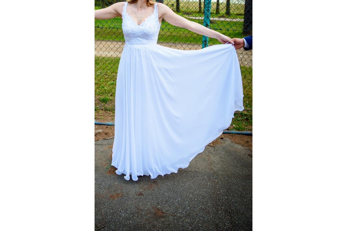 Sprzedam Suknię Ślubną rozmiar 36-38
