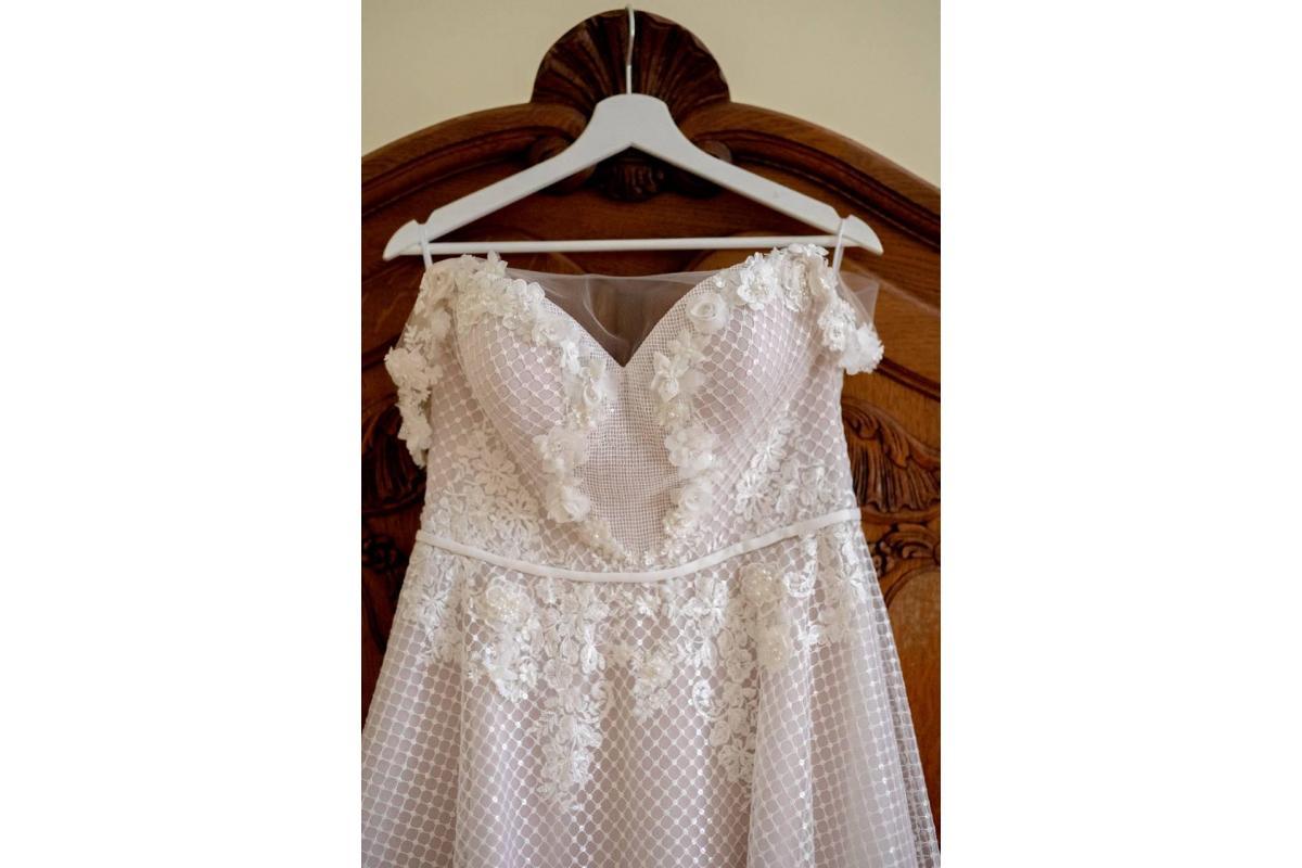 Nietuzinkowa suknia ślubna
