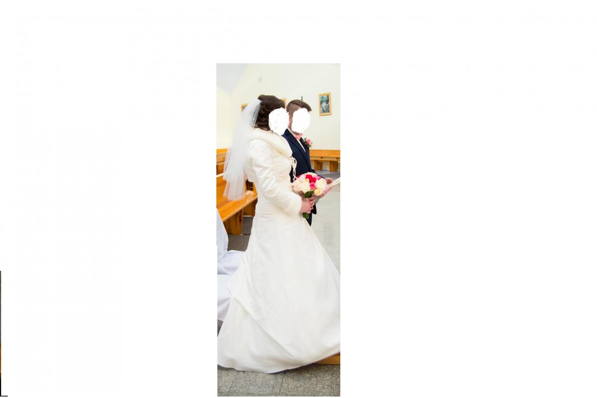 Suknia Ślubna Bolerko i Etola GRATIS