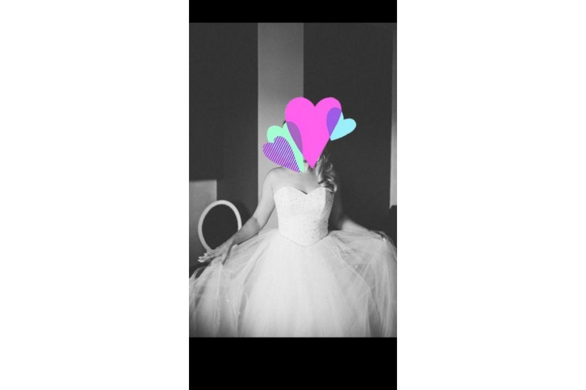 Suknia ślubna model princesska