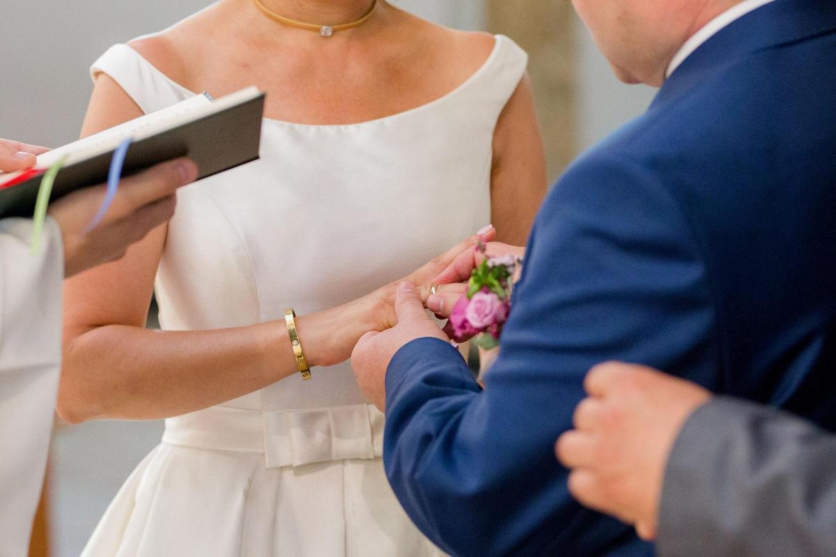 Suknia ślubna AIRE BARCELONA - ORYGINALNA