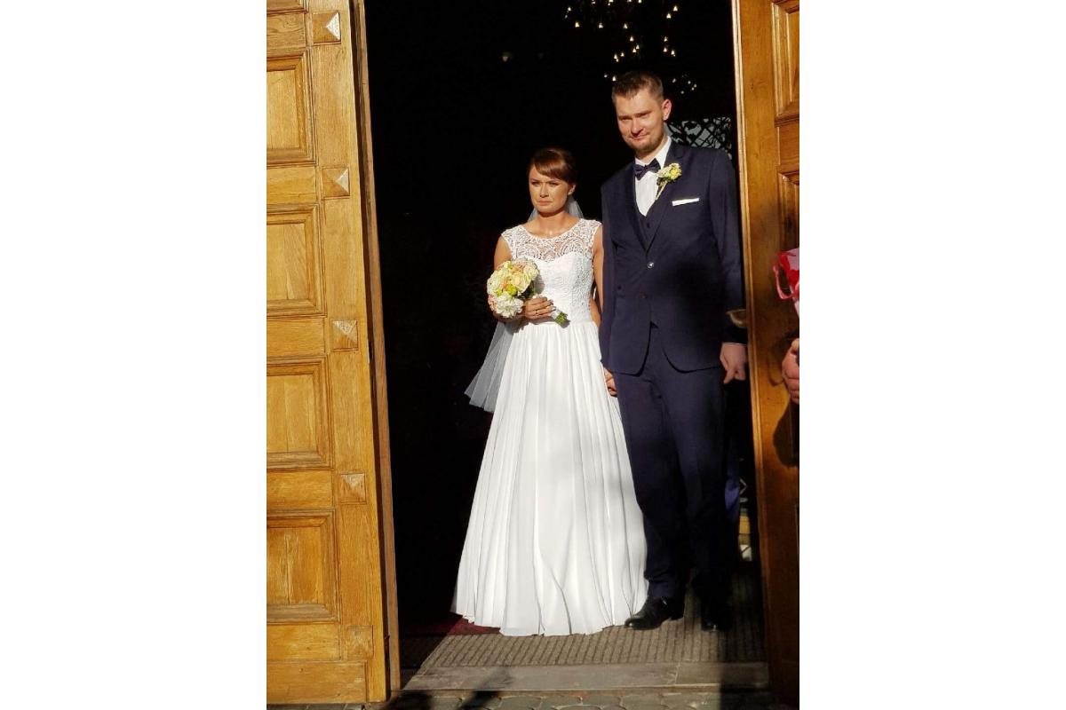 Sprzedam suknię ślubną z salonu Margarett