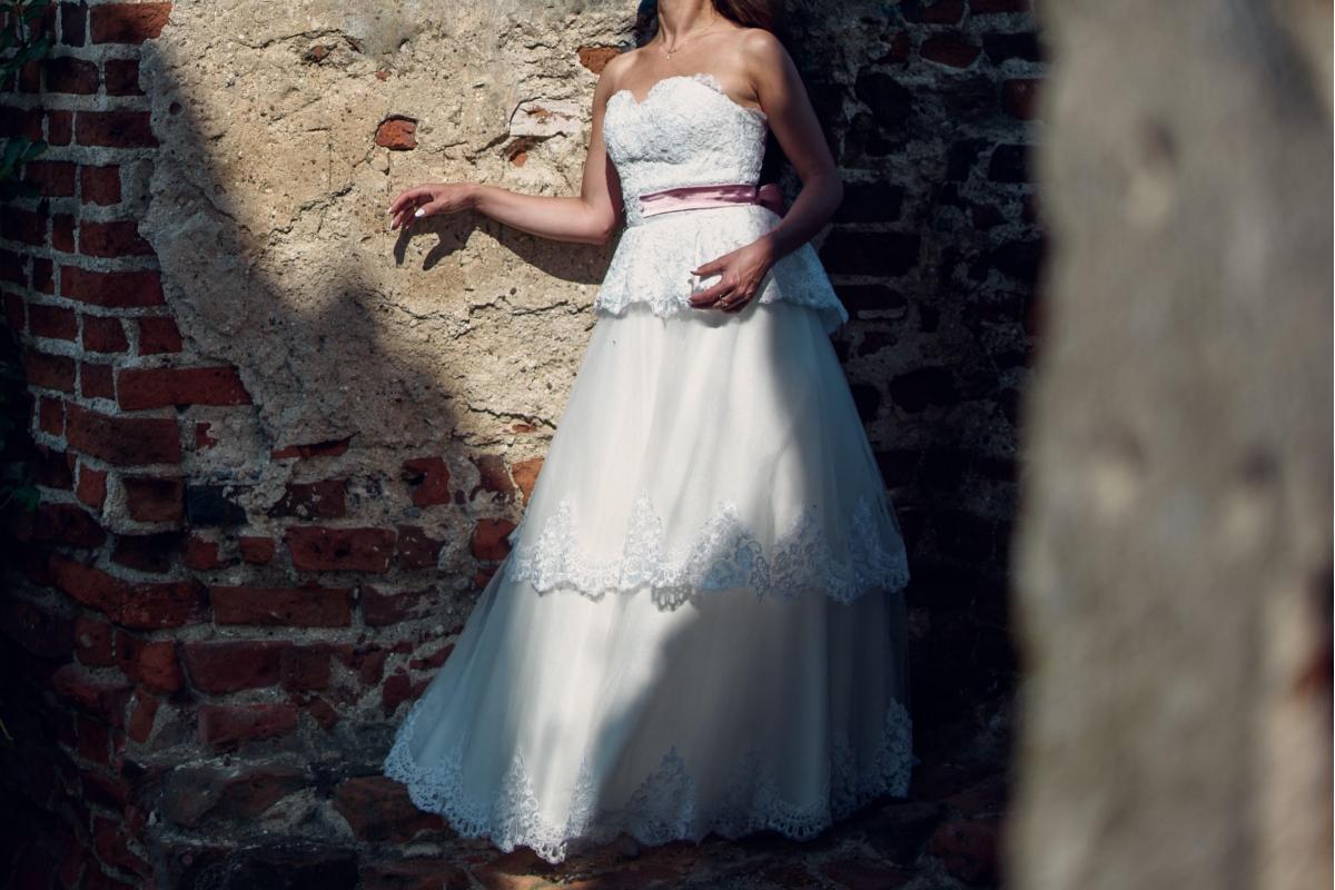 suknia ślubna r.34 / XS