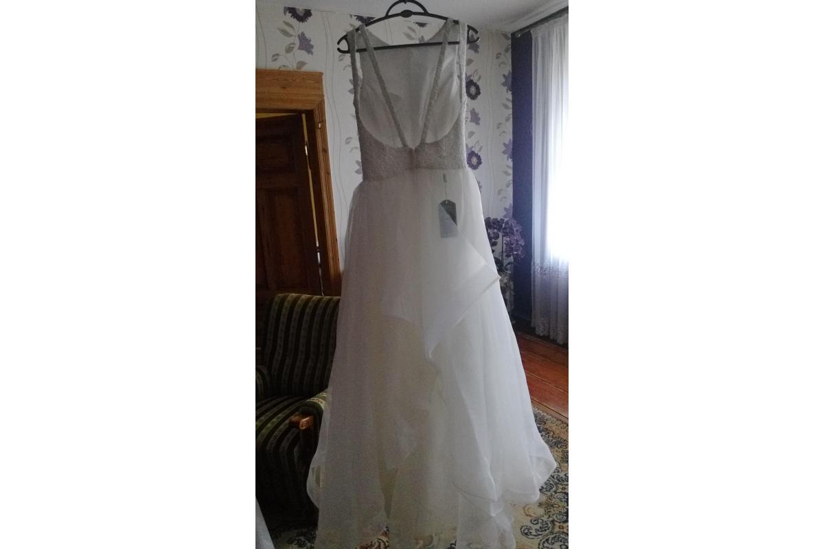 Piekna nowa suknia ślubna