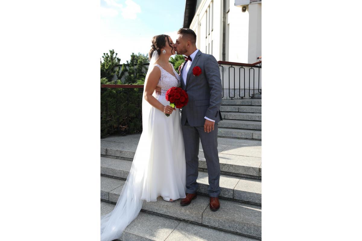 Sprzedam Suknię Ślubną Pronovias/ Tarik Ediz