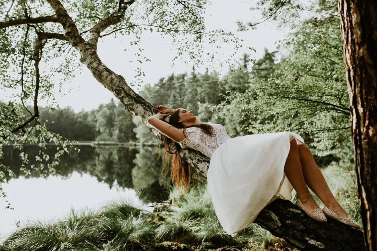 Suknia ślubna 2 w 1