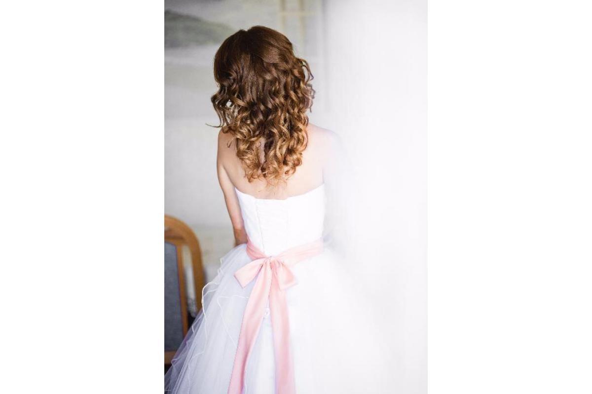Suknia ślubna r. 36 + koło + welon