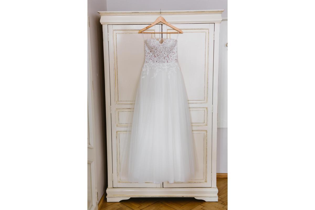 Sprzedam suknię ślubną - Annais by Olala nietypowa, nowoczesna