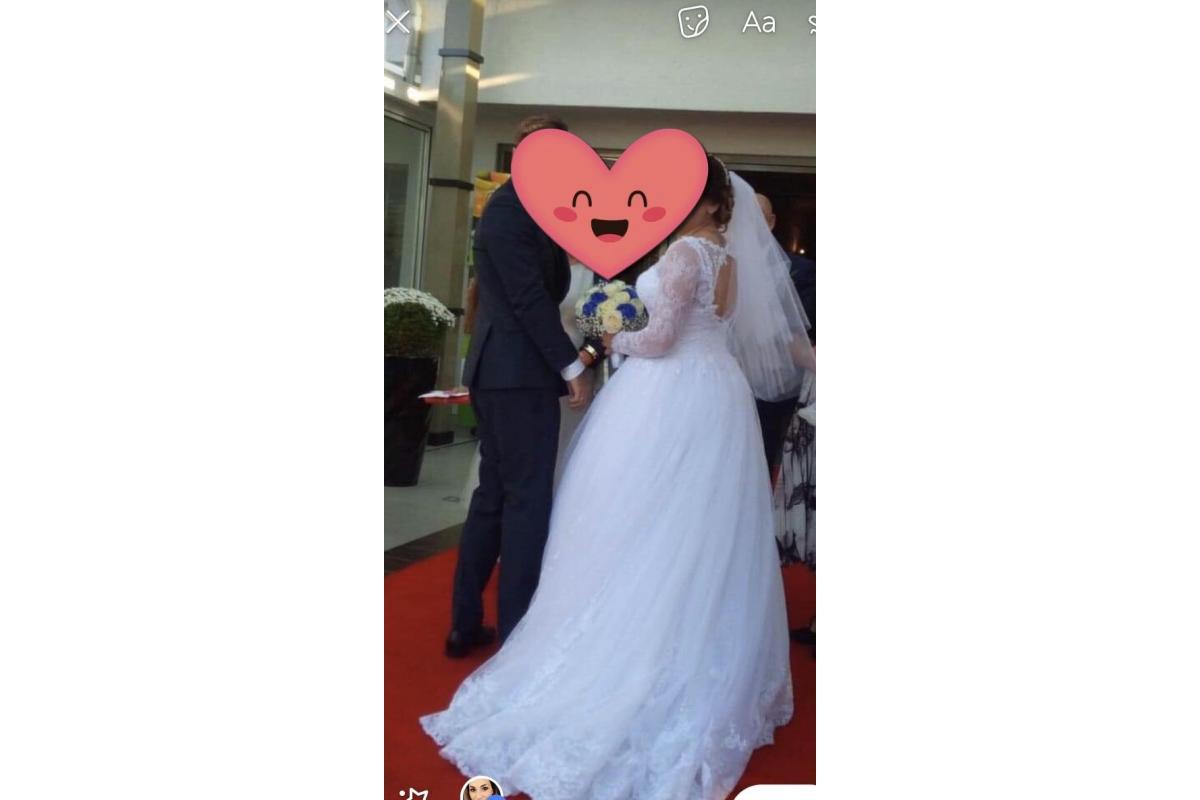 """Suknia ślubna Monica Loretti """"ALLEGRIA"""""""