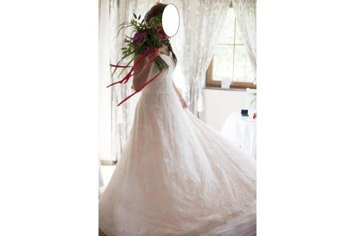 Suknia ślubna koronkowa rozmiar 40