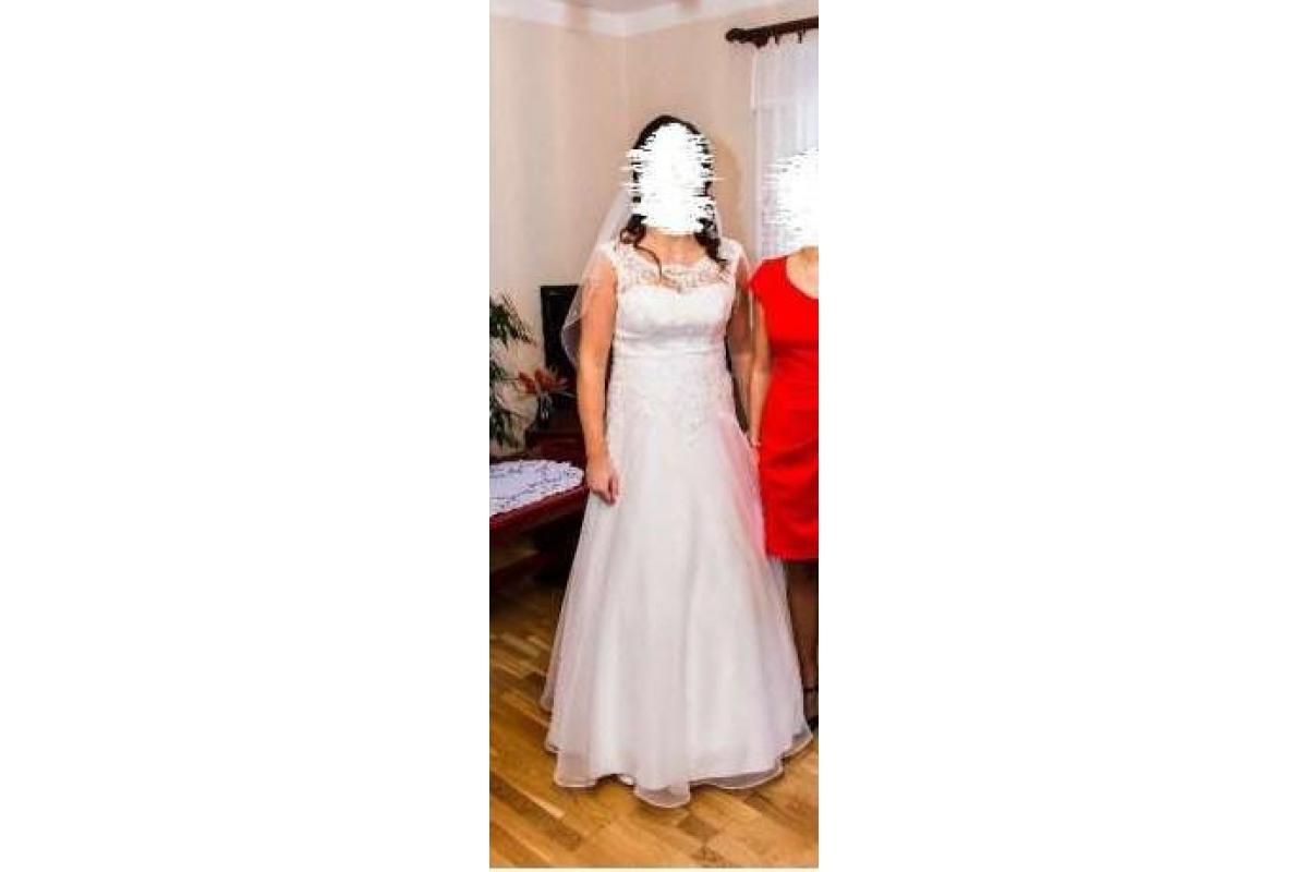 Suknia ślubna r 38-40