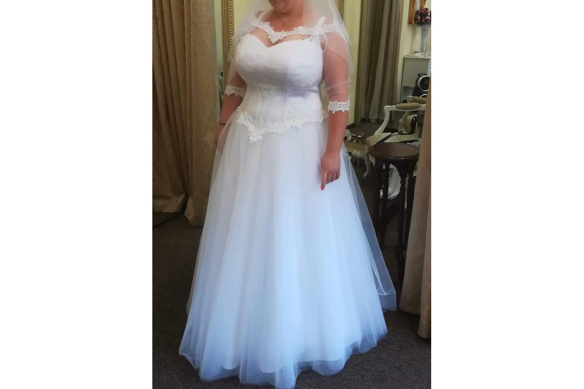 Używana suknia ślubna