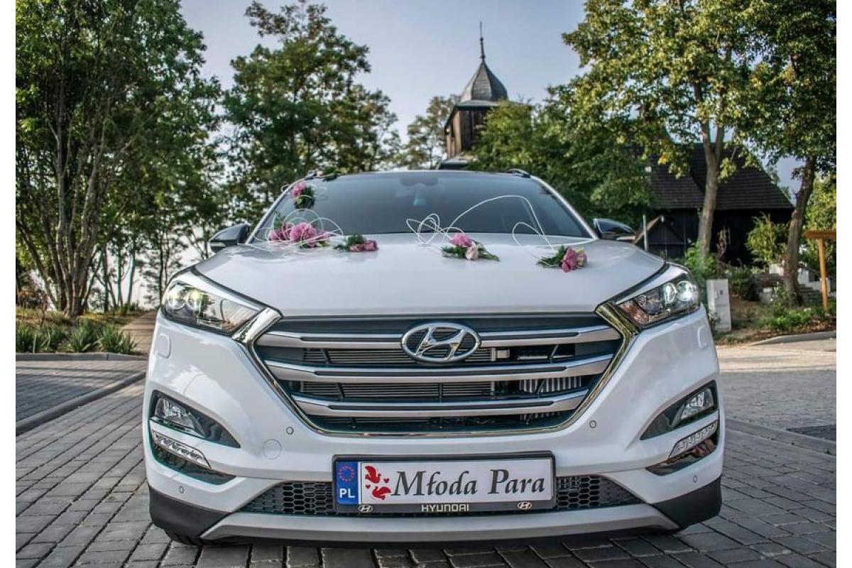 Biały Hyundai Tucson go+