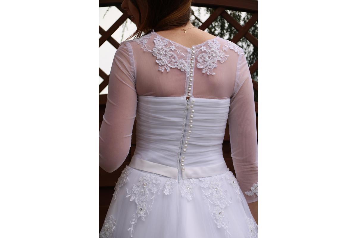 Suknia ślubna Imperial Bridal rozmiar 36/38 + koło gratis!