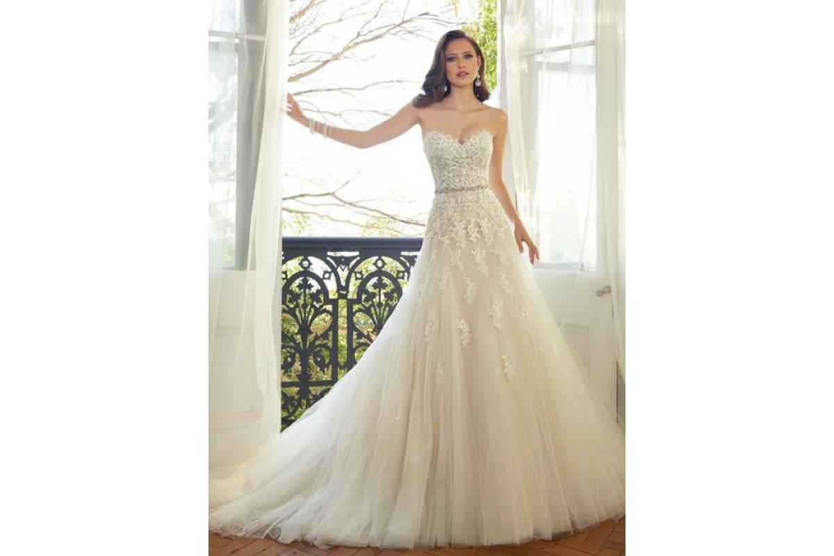Suknia ślubna Sophia Tolli Y11552 Prinia - OKAZJA!