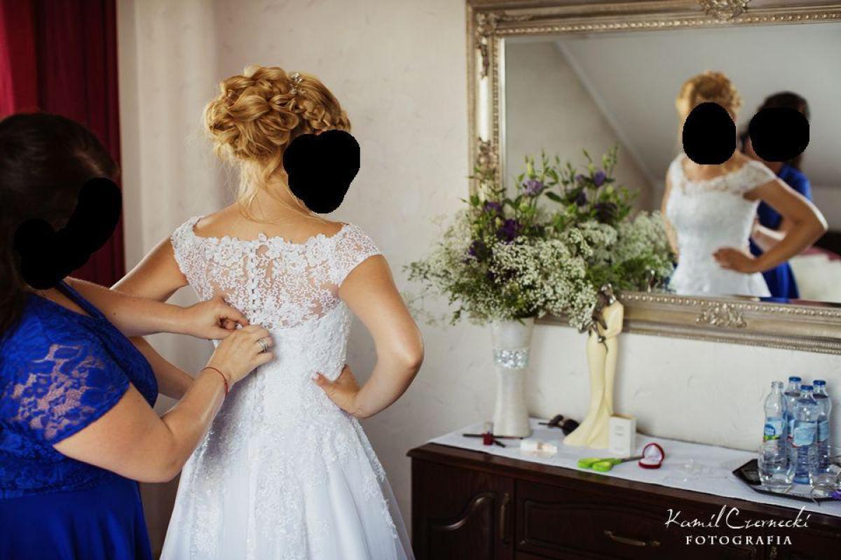 Piękna suknia ślubna Elizabeth Passion - rozmiar 36